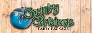 Country Christmas Party Package