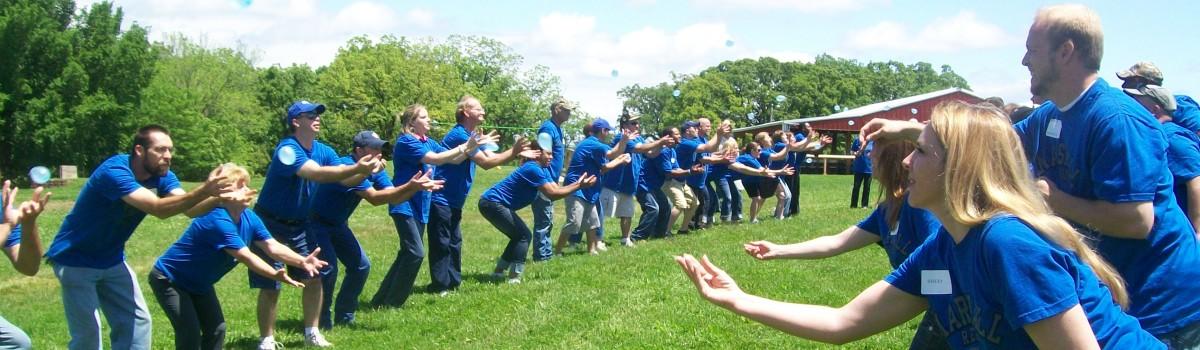 Water Balloon Team Building