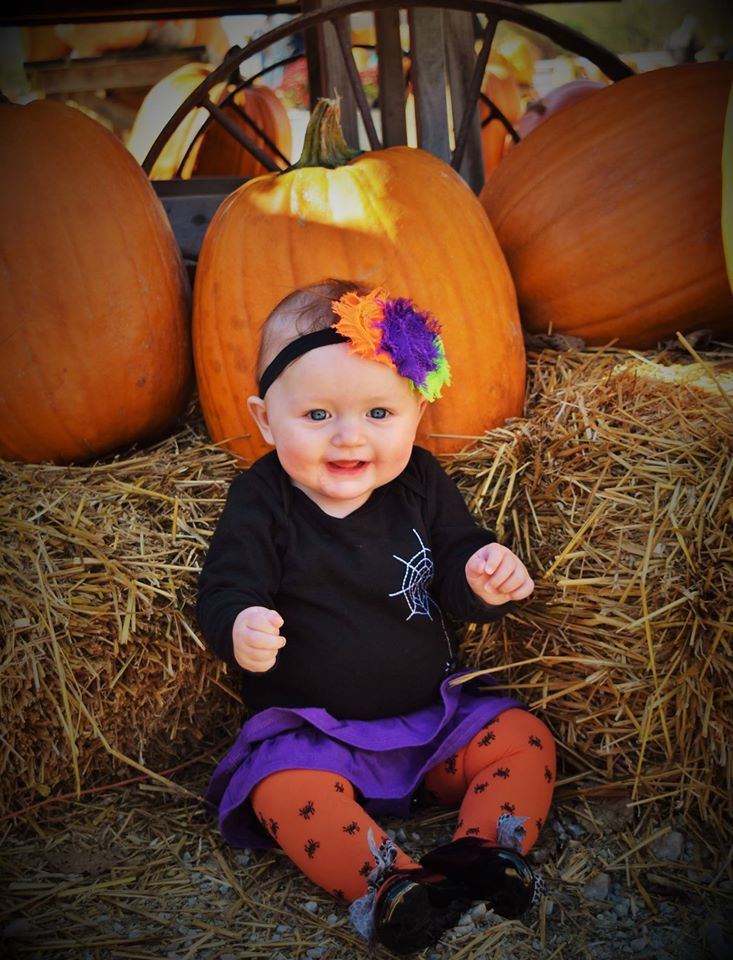 Emelia-Straw and Pumpkins