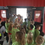 Field Trip Scarecrow Betty Petting Farm Tour