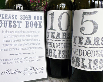 anniversary-wine-wedding-guest-book-faulkner's-ranch-kansas-city