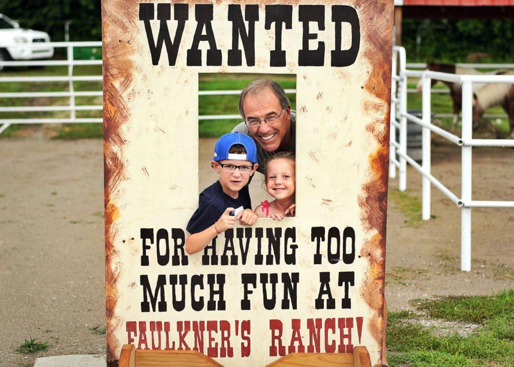 Faulkner's Ranch Wanted