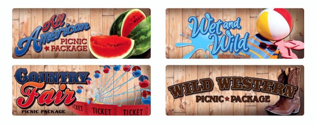 Faulkner's Ranch Company Picnic Packages