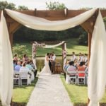 pergola for outdoor wedding