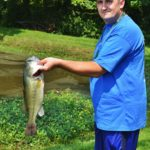 fishing for Boilermaker's Company Picnic at Faulkner's Ranch