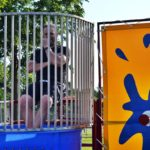 dunking games at Faulkner's Ranch for Company outing