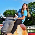 bull riding at Faulkner's Ranch