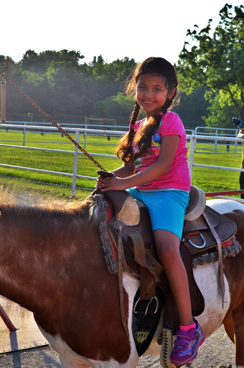 horse rides in Kansas City at Faulkner's Ranch