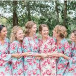 bridesmaids at Faulkner's Ranch wedding