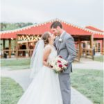 indoor/outdoor barn wedding location near Kansas City at Faulkner's Ranch