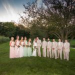 Howard McConnaughey Wedding Party at Faulkner's Ranch Wedding Venue