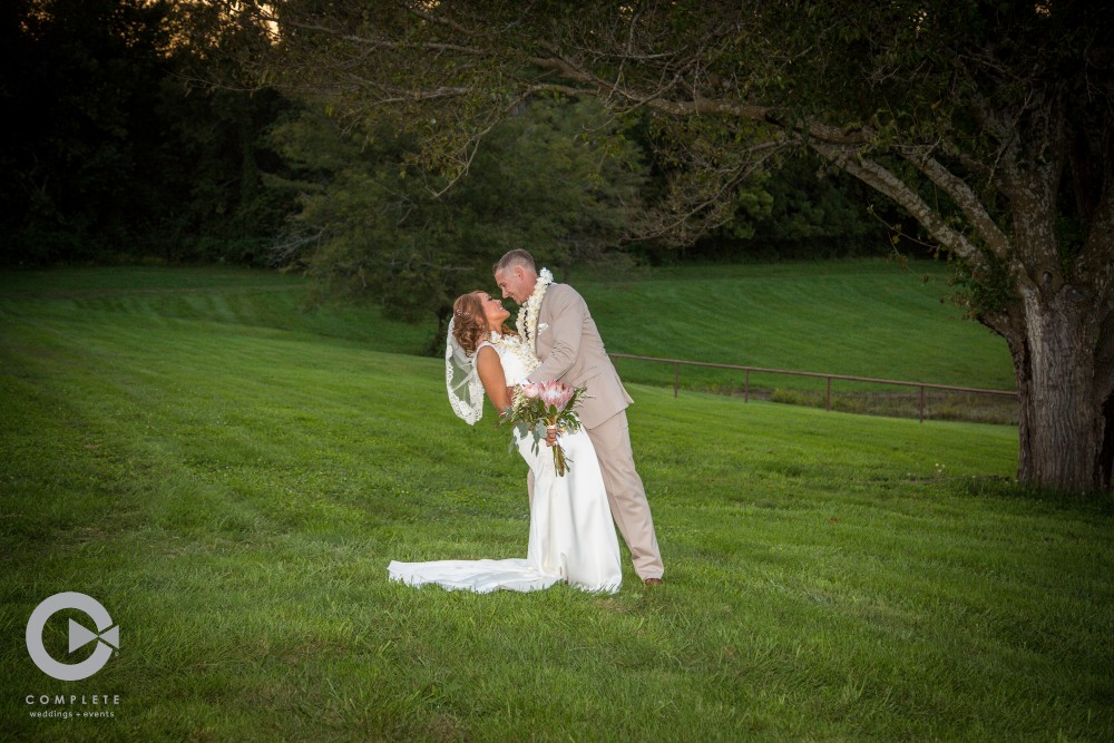 Outdoor wedding photos at Faulkner's Ranch - Howard McConnaughey Wedding