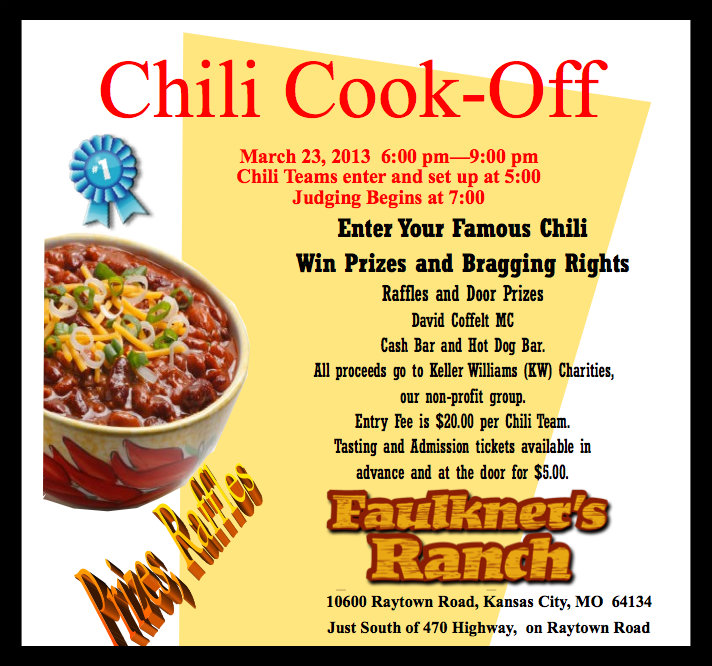 Ideas for chili cook off prizes